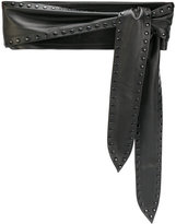 IRO Belizary belt - women - Leather - 75
