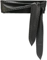 IRO Belizary belt - women - Leather - 80