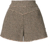Chloé raw-edged shorts