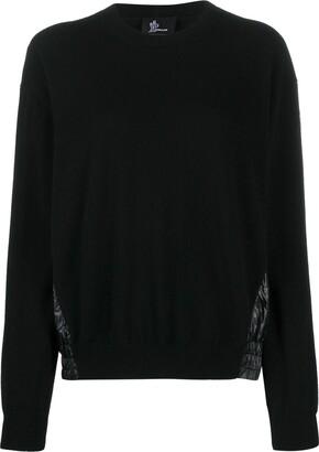 MONCLER GRENOBLE Contrast Panel Sweatshirt