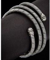 Scott Kay Silver Coil Flexible Bracelet.