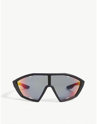 Prada Linea Rossa PS10U wrap-around sunglasses
