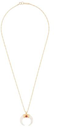 Isabel Marant Buffalo Horn Pendant Necklace