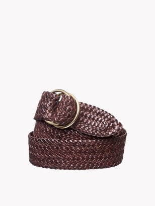 R.M. Williams Plaited 'O' Ring Belt