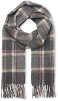 Whistles Wool Check Scarf