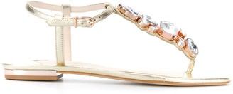 Sophia Webster Ritzy flat 10mm sandals