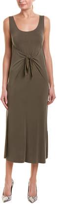 Vince Tie-Front Maxi Dress