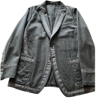 Dries Van Noten Grey Wool Jackets