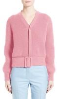 Victoria Beckham Women's Belted Wool Sweater