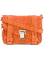 Proenza Schouler Mahogany 'ps1' Mini Suede Crossbody