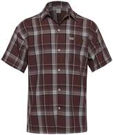 Youstar Short Sleeve Plaid Button Up Shirt White Brown Size 4XL