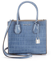 MICHAEL Michael Kors Studio Mercer Croco-Embossed Cross-Body Bag