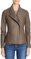 T Tahari Kelly Leather Jacket