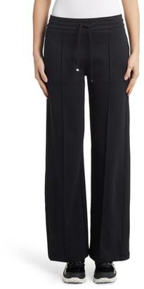 Moncler Pintuck Wide Leg Pants