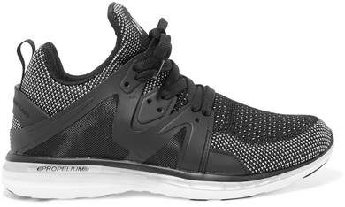 APL Athletic Propulsion Labs Ascend Techloom Mesh Sneakers - Black