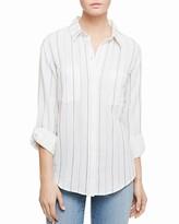 Sanctuary Stripe Boyfriend Shirt