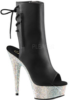 Pleaser USA Women's Bejeweled 1018DM-6 Ankle Boot