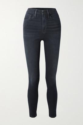 Frame Ali High-rise Skinny Jeans - Dark denim