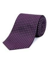 Jaeger Silk Polka Dot Tie