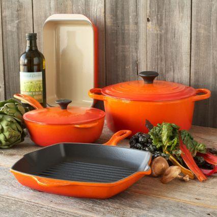 Le Creuset Flame 6-Piece Classic Cookware Set