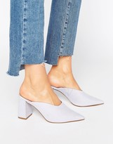 Asos PINKIE Pointed Heeled Mules