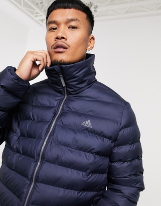adidas Training puffer jacket in navy