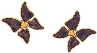 Yves Saint Laurent Pre Owned Butterfly Clip-On Earrings