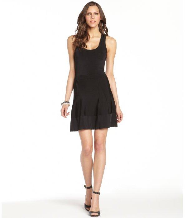 A.L.C. black body con 'Stafford' tank dress