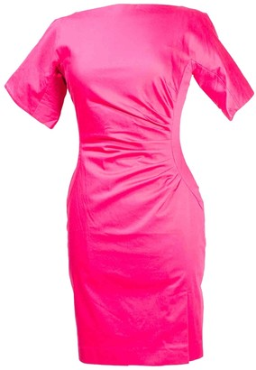 LK Bennett Pink Cotton - elasthane Dress for Women