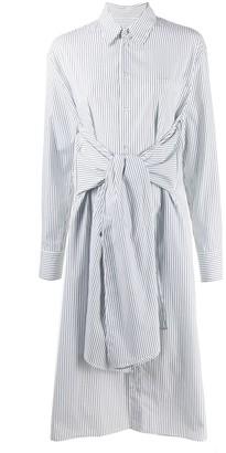 MM6 MAISON MARGIELA tie waist shirt dress