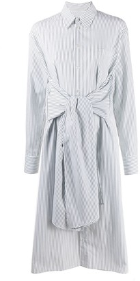 MM6 MAISON MARGIELA Tie Waist Shirt Dress