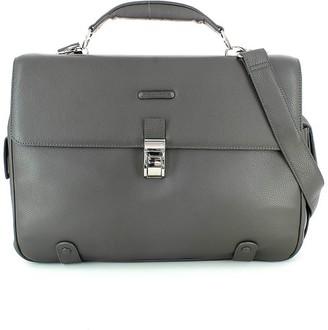 Piquadro Gray Briefcase
