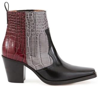 Ganni Cowboy ankle boots