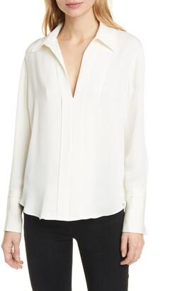 Frame Clean Silk Blouse