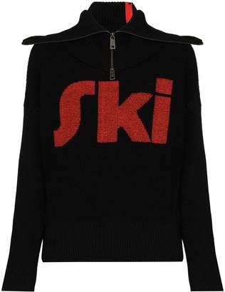 Falke Detachable-Collar Ski Jumper