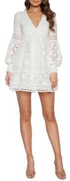Bardot Lace V-Neck Dress