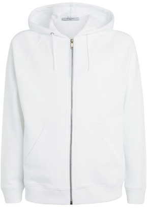 Givenchy Rainbow Signature Logo Zip-Up Hoodie