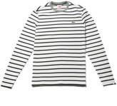 Lacoste Men's LIVE Striped Ottoman Cotton T-shirt