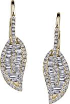Anita Ko Diamond Leaf Drop Earrings