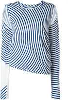 MM6 MAISON MARGIELA striped blouse