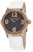 Stuhrling Original Women's 592.05 Vogue Analog Display Quartz White Watch