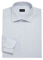 Ermenegildo Zegna Regular-Fit Striped Dress Shirt