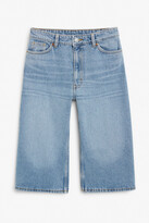 Thumbnail for your product : Monki Denim culottes