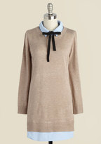 English Factory Still Savvy Sweater Dress