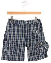 Dolce & Gabbana Boys' Gingham Cargo Shorts