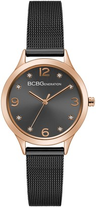 BCBGeneration Women's Black Bracelet Watch