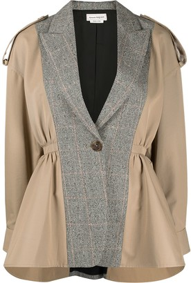Alexander McQueen Panelled Trench Jacket