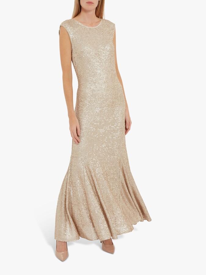 Thumbnail for your product : Gina Bacconi Basanti Embellished Maxi Dress