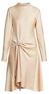 Chloé Women's Satin Crepe Draped Dress