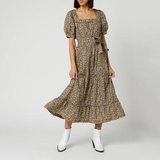 Free People Women's Heartlands Maxi Dress - Black Combo - XS